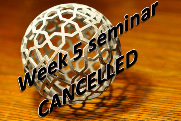 mis week 5 seminar cancelled
